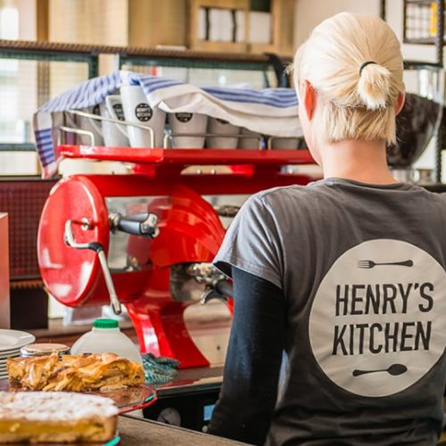 Coffee at Henrys Kitchen
