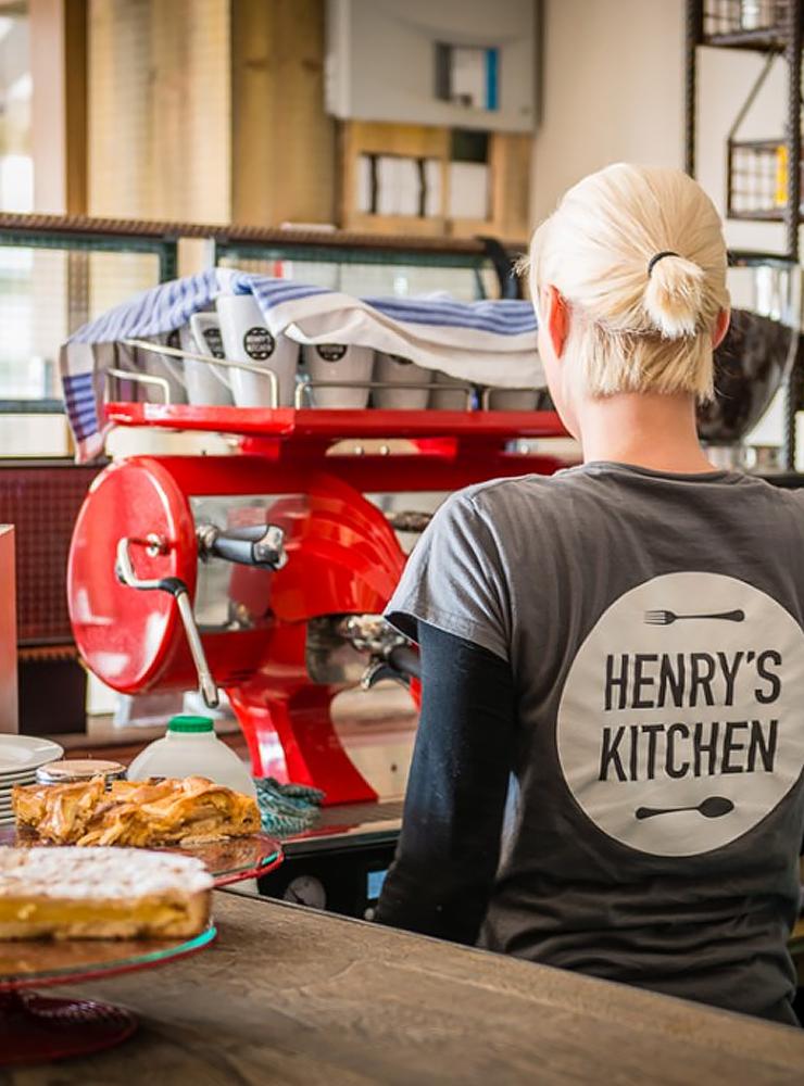 Coffee at Henrys Kitchen