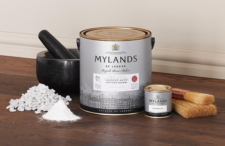 Mylands Paint Tin