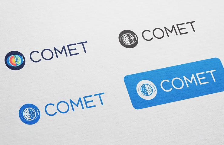 Comet logo variants
