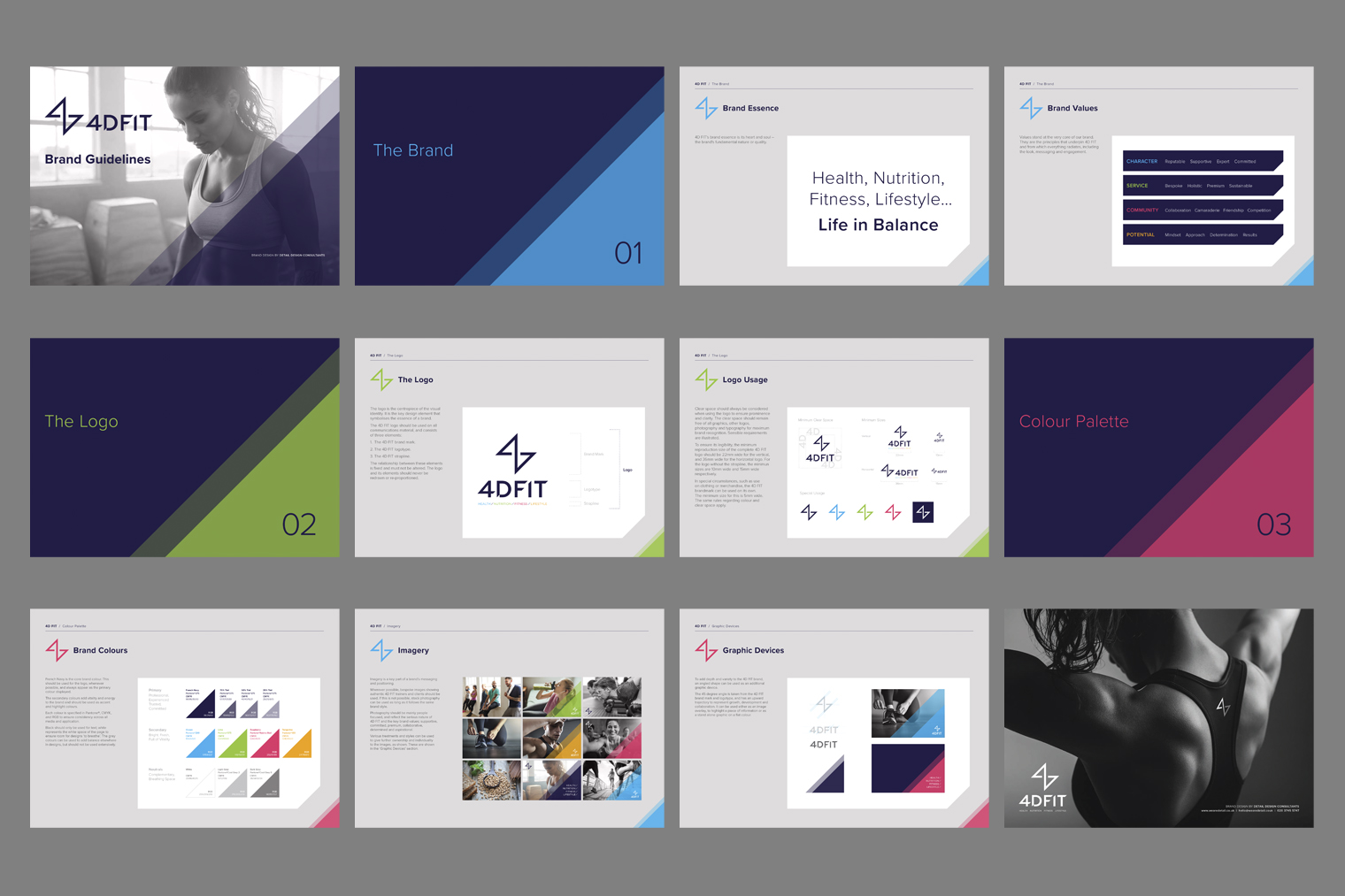 4DFit Brand Guidelines