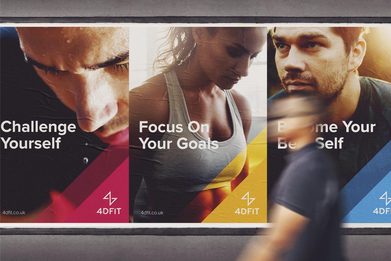 4D Fit poster application