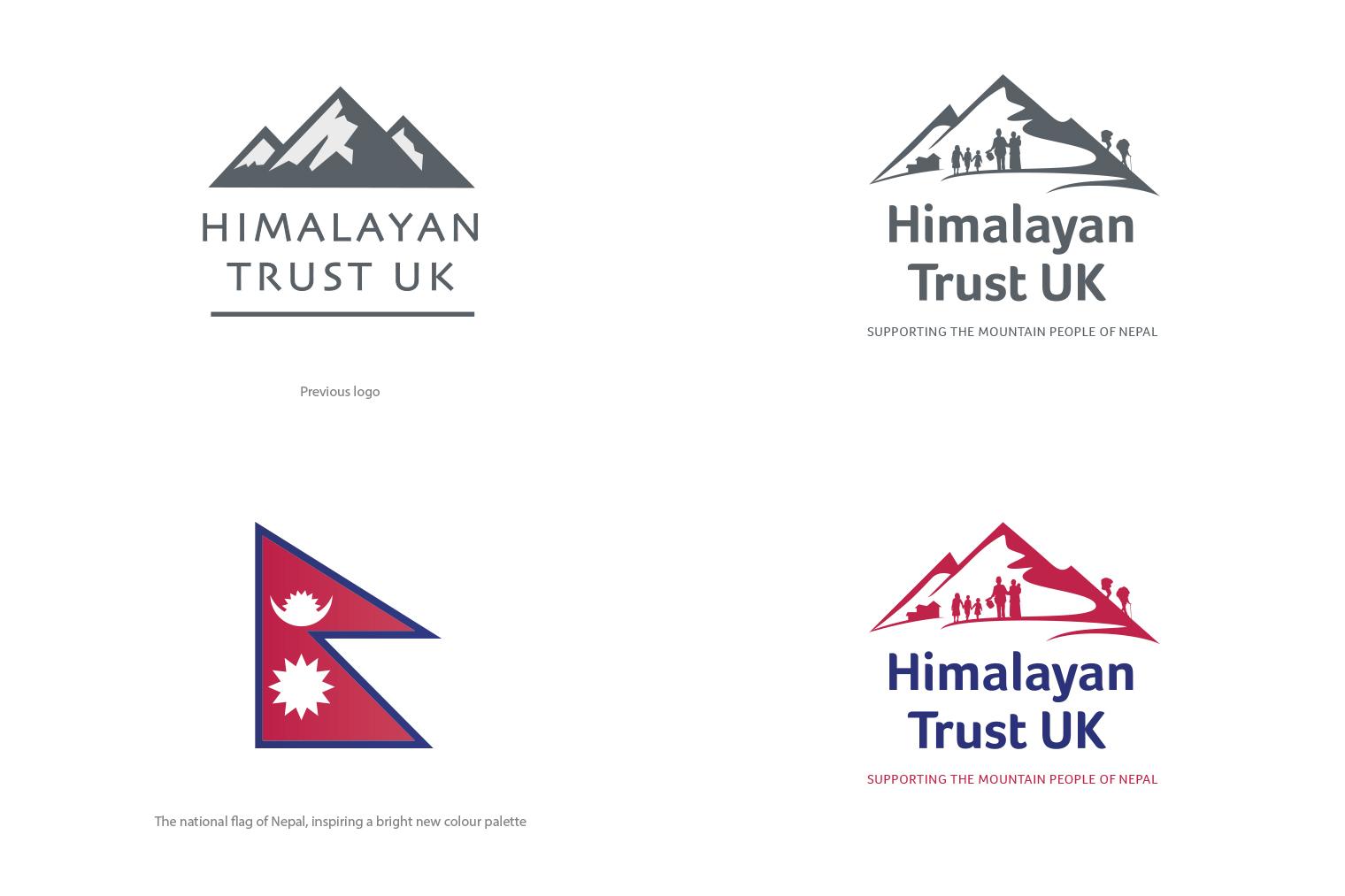 Himalayan Trust logo design